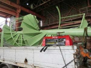 納品階段コロケット